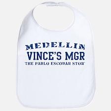 Vince's Mgr - Medellin Bib
