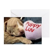 Puppy Luv Greeting Cards (pk Of 10)