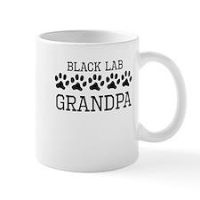 Black Lab Grandpa Mugs