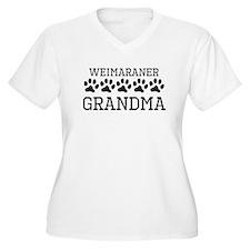 Weimaraner Grandma Plus Size T-Shirt