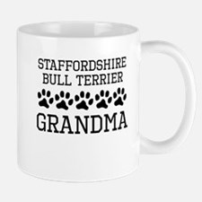 Staffordshire Bull Terrier Grandma Mugs