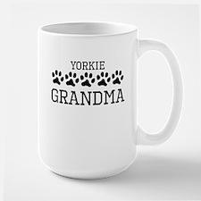 Yorkie Grandma Mugs