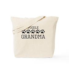 Poodle Grandma Tote Bag
