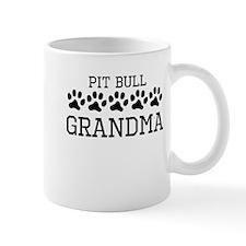 Pit Bull Grandma Mugs