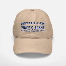Vince's Agent - Medellin Baseball Baseball Cap