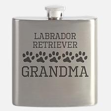 Labrador Retriever Grandma Flask