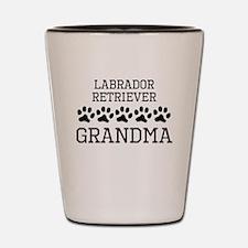Labrador Retriever Grandma Shot Glass