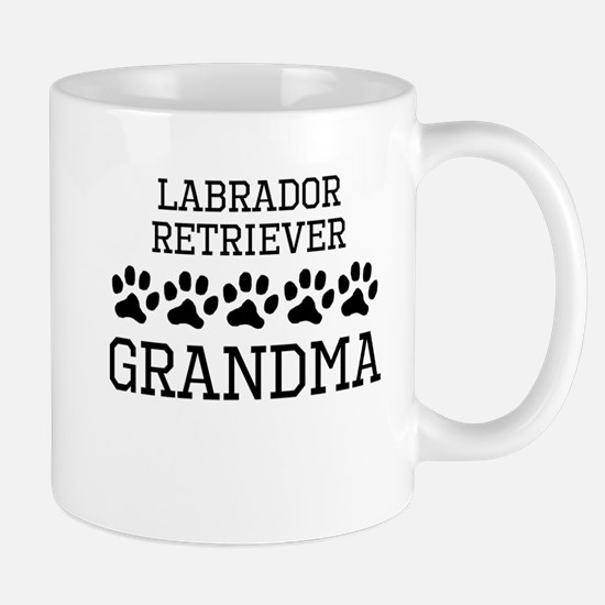Labrador Retriever Grandma Mugs