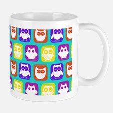 Cute Owl Bright Owl Pattern Mug