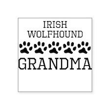 Irish Wolfhound Grandma Sticker