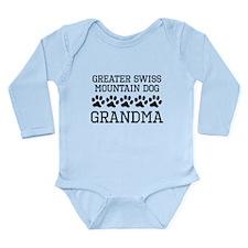 Greater Swiss Mountain Dog Grandma Body Suit