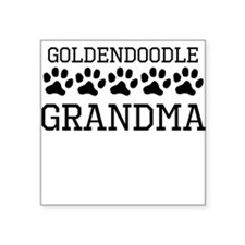Goldendoodle Grandma Sticker