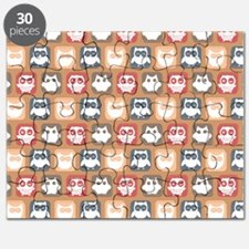 Cute and Lovely Owls Pattern Puzzle