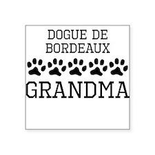 Dogue de Bordeaux Grandma Sticker