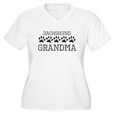 Dachshund Grandma Plus Size T-Shirt