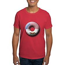 USA - California Flag Donut T-Shirt
