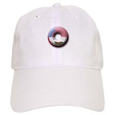 USA - California Flag Donut Baseball Cap