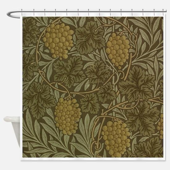 William Morris Vine Shower Curtain