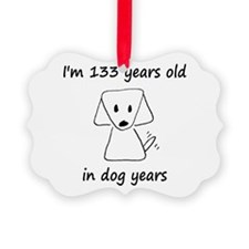19 dog years 6 - 2 Ornament