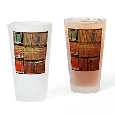 Subversive Librarians Drinking Glass