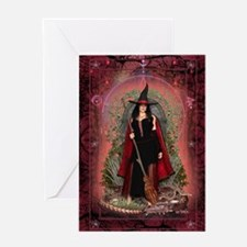 Dragon Witch ~ Fire Greeting Cards