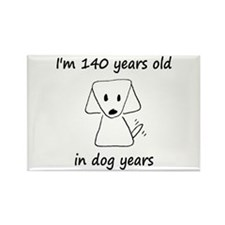 20 Dog Years 6 - 2 Magnets