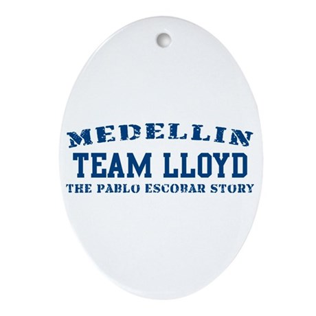 Team Lloyd - Medellin Oval Ornament