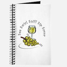 White Wine 5 S's Journal