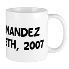 Mrs. Fernandez  October 6th,  Mug
