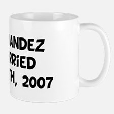 Mrs. Fernandez Just Married Mug