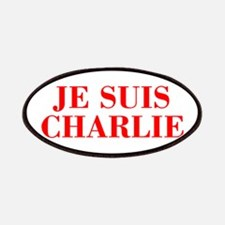 Je suis Charlie-Bod red Patches