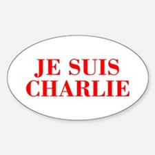Je suis Charlie-Bod red Decal