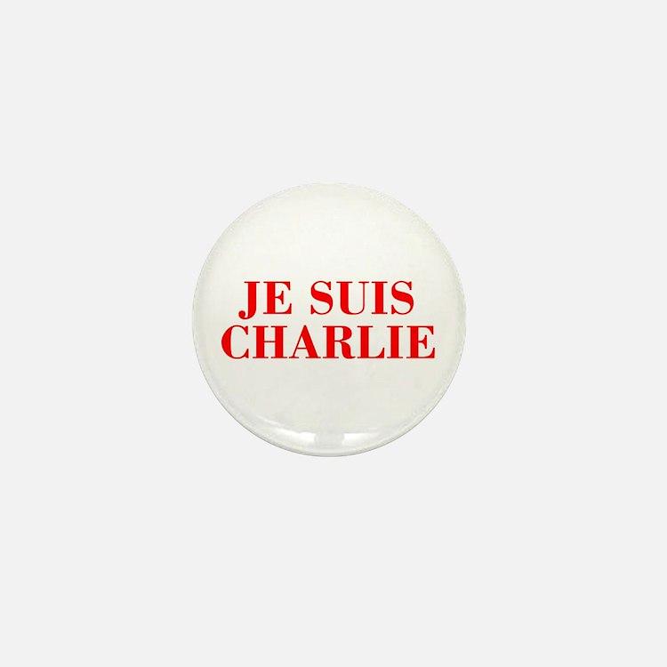 Je suis Charlie-Bod red Mini Button