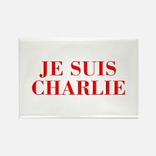 Je suis Charlie-Bod red Magnets