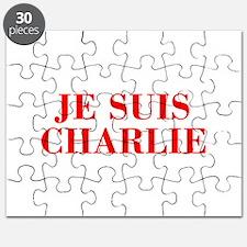 Je suis Charlie-Bod red Puzzle