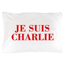 Je suis Charlie-Bod red Pillow Case