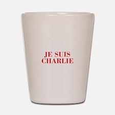 Je suis Charlie-Bod red Shot Glass