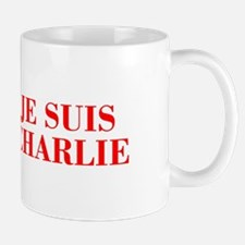 Je suis Charlie-Bod red Mugs