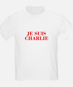 Je suis Charlie-Bod red T-Shirt