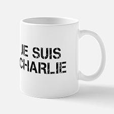 Je suis Charlie-Cap black Mugs
