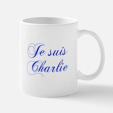 Je suis Charlie-Cho blue Mugs