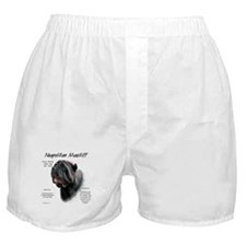 Black Neo Boxer Shorts