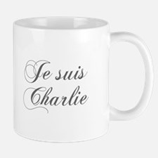 Je suis Charlie-Cho gray Mugs