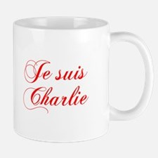 Je suis Charlie-Cho red Mugs