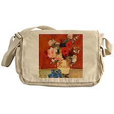 Stefan Luchian - Summertime Flowers Messenger Bag