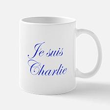 Je suis Charlie-Edw blue Mugs
