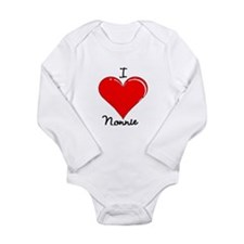 Unique Nanny Long Sleeve Infant Bodysuit