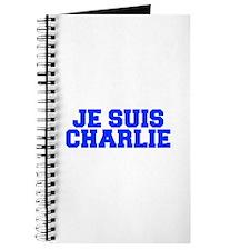 Je suis Charlie-Fre blue Journal