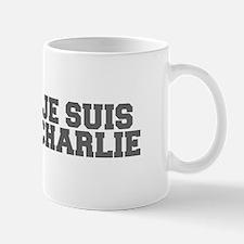 Je suis Charlie-Fre gray Mugs