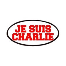 Je suis Charlie-Fre red Patches